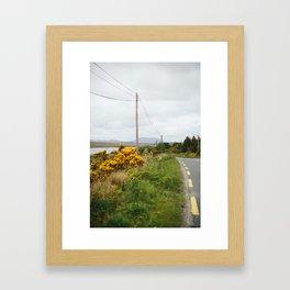 Road to Kylemore Framed Art Print