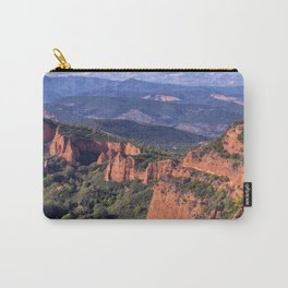 Las Medulas, ancient Roman mines in Leon, Spain.  Carry-All Pouch