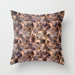 tropical chop (variant) Throw Pillow