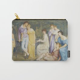 """Simeon Solomon """"A Prelude by Bach"""" Carry-All Pouch"""