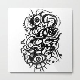 Stressed Metal Print
