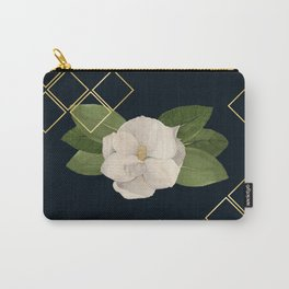 Magnolia Bloom at Night Carry-All Pouch