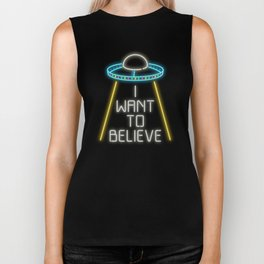 I want to believe Biker Tank