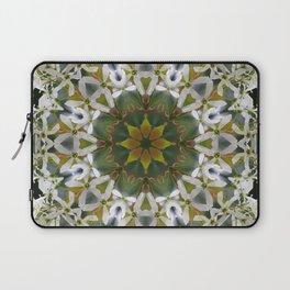 Lacy Serviceberry mandala 0033 k11 Laptop Sleeve