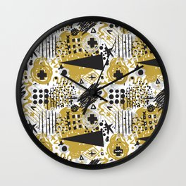 Itchy Sketchy No.1 Wall Clock