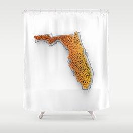 FL-PD-3D Shower Curtain
