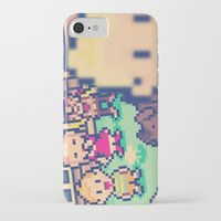 earthbound iPhone & iPod Cases featuring Mother 3 Selfie by Dean Bottino