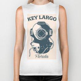 Key Largo Flordia Biker Tank