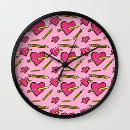 Funny Valentine Wall Clock