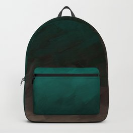 Inverted Fade Turquoise Backpack
