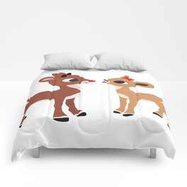 Classic Rudolph and Clarice Comforters