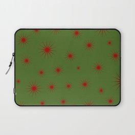 Modern Christmas Stars Laptop Sleeve