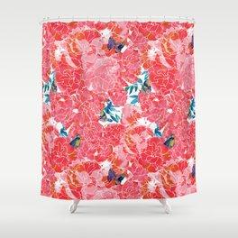 Peonies Shower Curtain