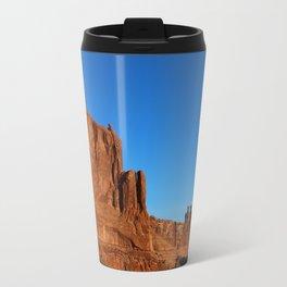 Red Sandstone Landscape of the Arches Park Travel Mug