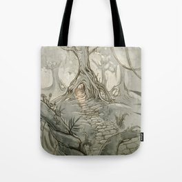Drawings a Forest Tote Bag