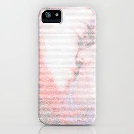 Eternal Sunshine Script Print iPhone Case