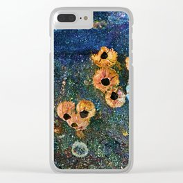 Abstract beautiful barnacles Clear iPhone Case