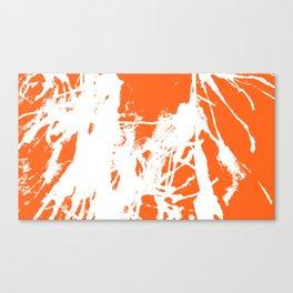 Orange Base Canvas Print