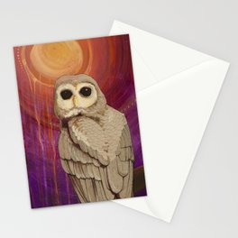 Skulking by Owl Light Stationery Cards
