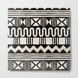 African Tribal Metal Print