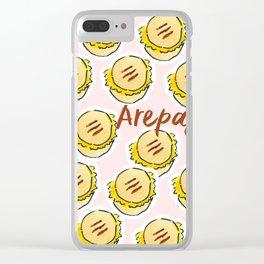 arepas - venezuelan food Clear iPhone Case