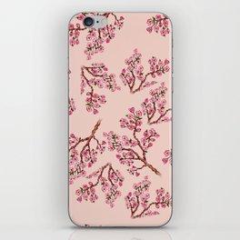 Sakura Branch Painting iPhone Skin