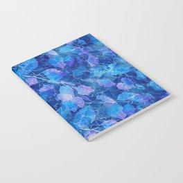 Frozen Leaves 30 Notebook