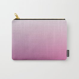 Faded Vintage Pink Ombre Carry-All Pouch