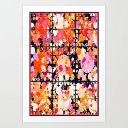 Joyous Explosion Art Print