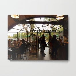 Sunday in the Park With $bux Metal Print