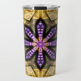 Purple Star Rustica Travel Mug