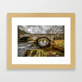 Llugwy Bridge Framed Art Print