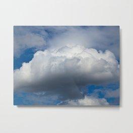 The Cloud Metal Print