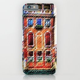 Canals of Venice, Italy Watercolor by Jéanpaul Ferro iPhone Case
