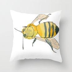bee no. 2x2 Throw Pillow