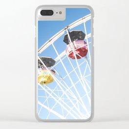 Santa Monica Ferris Wheel Clear iPhone Case