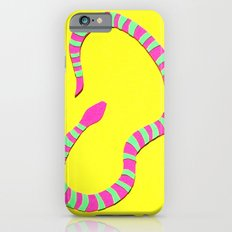 Yellow Snake Papercut Slim Case iPhone 6s