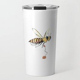 Bee Walking Her Varroa Travel Mug