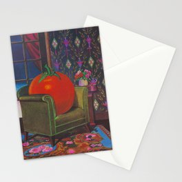 Therapy With A Tomato Milton Glaser - Tomato- Something unusual is going on here - 1978 Stationery Cards