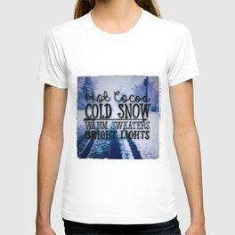 Winter love T-shirt