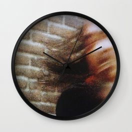 80s Act of Violence II Wall Clock