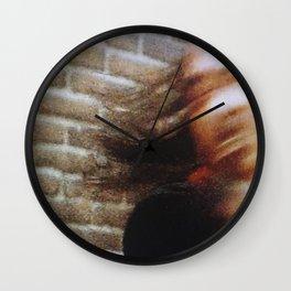 80s Act of Violence II Wall Clock