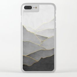 Minimal Landscape 01 Clear iPhone Case
