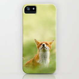 The Mindful Fox iPhone Case