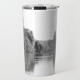 The River Oise at Auvers Travel Mug