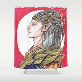 The Elven King Shower Curtain