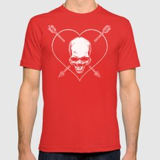 Eros & Thanatos (Joli Rouge Red Flag) X-LARGE Mens Fitted Tee Red