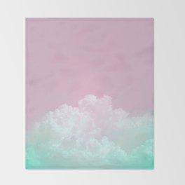 Dreamy Candy Sky Throw Blanket