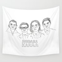 karma Wall Tapestries featuring Sundara Karma by ☿ cactei ☿