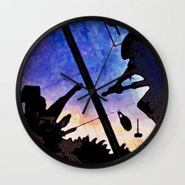 Ninja Attack Wall Clock